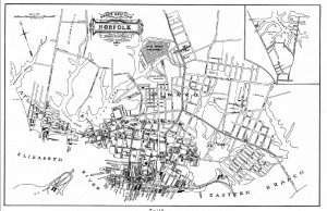 Map of Norfolk 1877